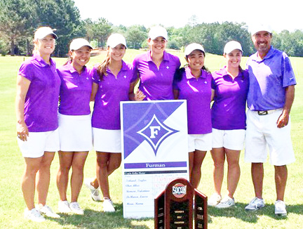 The Furman Lady Paladins won the SoCon Women's Championship at the Savannah Quarters Golf Club.