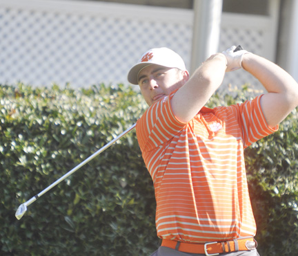 Austin Langdale led Clemson in the final round of the ACC tourney.