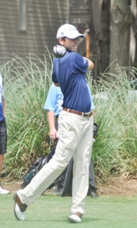 Greenwood's Ben Martin led his team to victory in the afternoon wave of the RBC Heritage Pro-Am at Harbour Town Golf Links