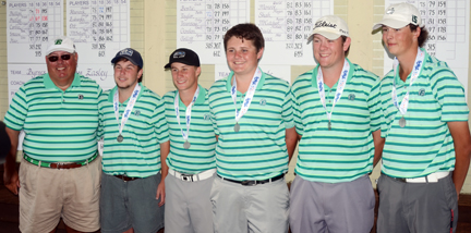 Easley finished in second place.  The team included Matt Carter, Hunter camp, Drake McAlister, Jarman Casey, Hunter Mote, Zach Evatt and coach Dave Giffin.