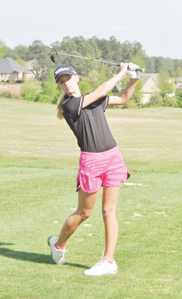 Grace Vaughan of Chesnee will play in the Wells Fargo Pro Am with Rory Mcllroy.