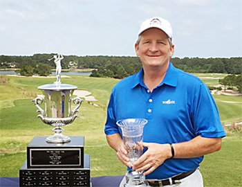 Todd Hendley added the SCGA Senior title to his Mid-Am Championship.