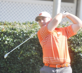 Austin Langdale shot a 4-under par 68 in the second round of the Chapel Hill Regional