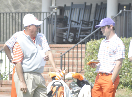 Clemson's Larry Penley has guided his teams to seven regional championships.