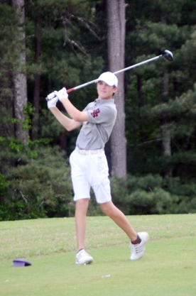 Trent Phillips won his second straight SC AAAA Individual championship.