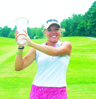 Lauren Stephenson won the AJGA Girl's Championship at Furman and earned All-state honors in the boys AAAA championship.