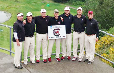 The Gamecocks shot a tournament best round of 14 under par to earn a return trip to the NCAA Finals.