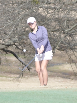 Ashley Czarecki is tied for the lead after the first round of the Upstate Junior. (file photo)