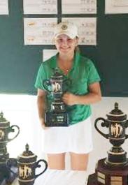 Ashley Czarnecki shot a final round 2-under par 70 to win the overall girls title at Smithfields.