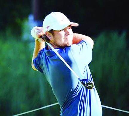 Crimson Tide golfer Jonathan Hardee from Greer finished as the runner-up in the CGA tournament. (CGA Picture)