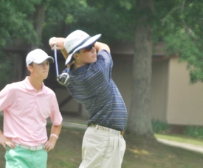 Defending champion Jack Parrott of Columbia is tied for third place after the first round of the SC Junior. (file photo)
