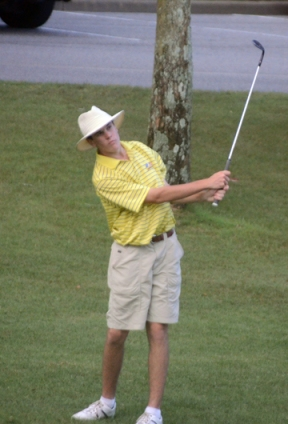 Jack Parrott of Columbia is tied for the lead going into the final round of the SC Junior.