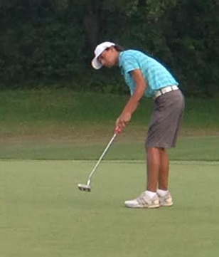 First round leader Christian Salzer of Sumter is tied for third going into the final round of the SC Junior