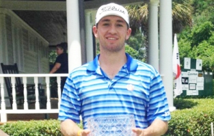 Ben Schlottman of Auburn won the Palmetto Amateur at the Palmetto Club in Aiken.