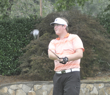 Future USC Upstate golfer Matt Carter shot a second round 66 to move up to fourth. (file photo)