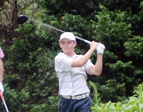 First round co-leader Jonathan Costello finished in a tie for second.
