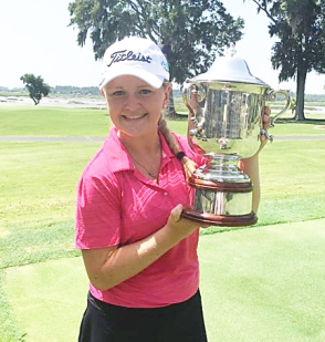 Ashley Czarnecki of Mauldin won her second major SC girls title.