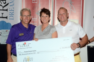 The Frazee Dream Center in Greenville received $50,000 from The Blade Junior Golf Classic.