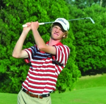 USC golfer Keenan Huskey from Greenville is tied for 3rd at the US Open qualifying tournament. (file photo)