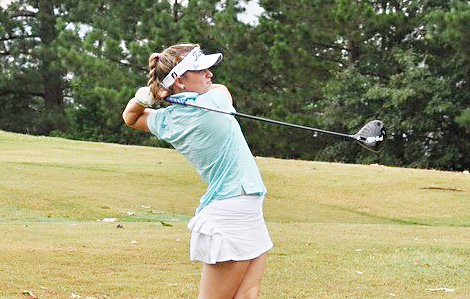 Page Morehead shot a final round 75 to win the women's championship.