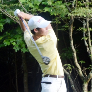 Seth Robertson finished in a tie for second at the Spartanburg County Am.