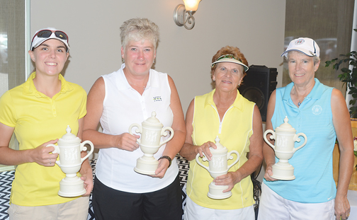 Division winners included, Young Am, AShley Carrell, Mid-Am Pam Prescott, Super Senior Am, Chris Shadoan, Senior Am, Nancy Von Meyer.