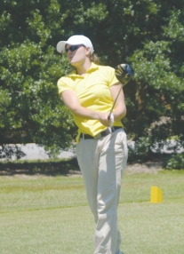 Ashley Carrell shot a final round 70 to move up to second place.