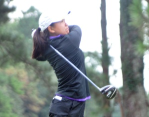 Alice Chen of Furman is in a playoff for one of the last spots in the round of 64.