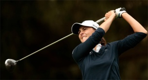 Justine Dreher was eliminated in the round of 32 at the US Women'sAm.