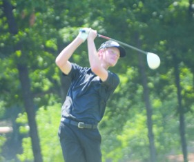 Keenan Huskey added to his lead at the SC Amateur.