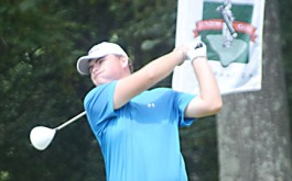 Michael McKee of Ware Shoals is second at the SC Am.