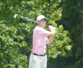 Will Miles of Hilton Head, Is is tied for fourth at the SC Am.