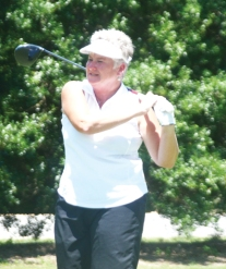 Former champion Pam Prescott finished in third place.