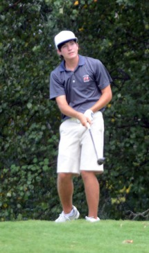 Caleb Proveaux shot a 68 in the third round to move up to fourth place