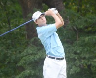 2013 Champion Carson Young moves up to a tie for 7th.