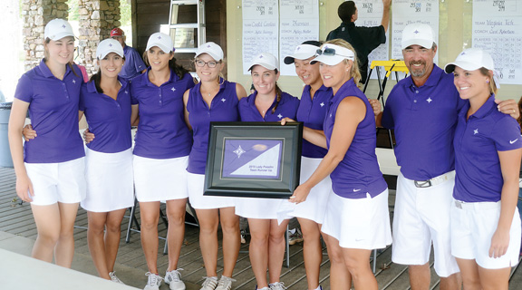 The Lady Paladins finished second in their Invitational tournament.