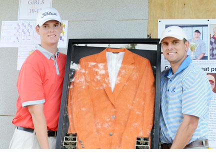 Zack Gordon's name will be added to the Orange Jacket list of winners.