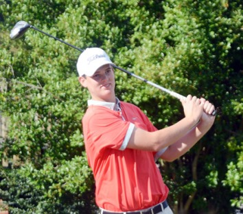 Zack Gordon of Gaffney won the overall boys title at the Orange Jacket Junior.