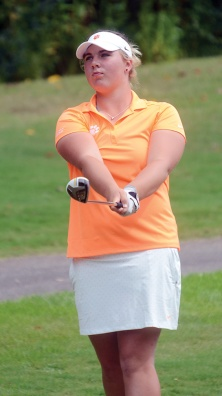 Alice Hewson won her first two tournaments for Clemson.