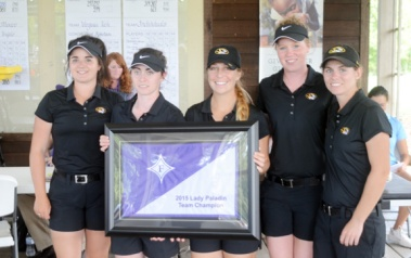 The Missouri golf team won the Lady Paladin Invitational