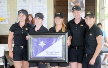 The Missouri golf team won the Lady Paladin Invitational