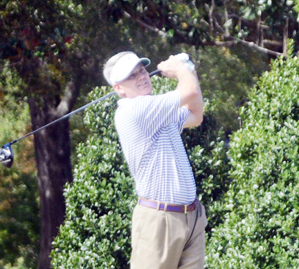 Lee Palms of Greenville finished as the runner-up in both the SCGA Amateur and Mid-Am.
