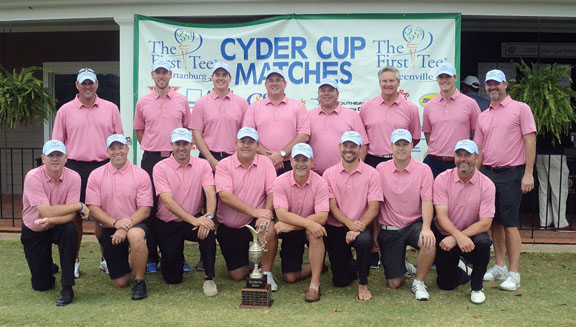 Spartanburg won the Cyder Cup over Greenville.