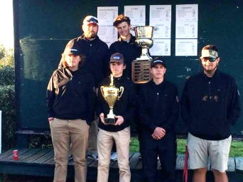 Coach Josh Pruitt's Boiling Springs Bulldogs won their fourth straight Spartanburg County High School championship. The team included Josh Sprouse, Cole Hair, Graham and Harrison Corbin and County medalist Trent Phillips.