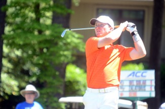 Stephen Behr shot a 5-under par opening round to help Clemson take the early lead at the ACC Championship.