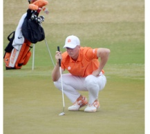 Josh Fickes had the best round for Clemson with a 1-under par 71.