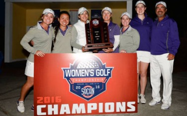 The Furman Lady Paladins won their second straight SoCon women's championship.