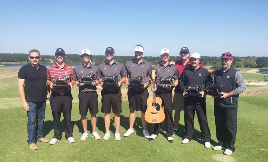 The South Carolina Gamecocks won their fourth tournament of the year with a victory at Bulls Bay.