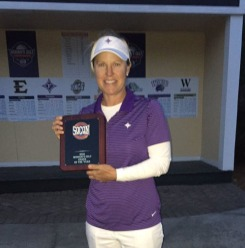 Furman golf coach Kelley Hester was named the SoCon Coach of the Year for the second straight year.