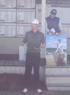 Keenan Huskey won the individual title by six shots.